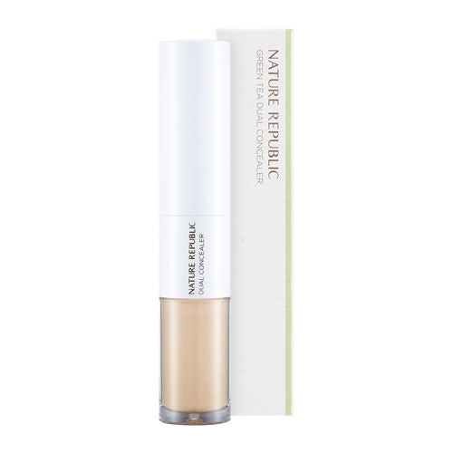 BOTANICAL GREEN TEA DUAL CONCEALER 01 LIGHT BEIGE