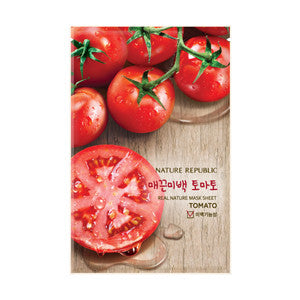 REAL NATURE TOMATO MASK SHEET
