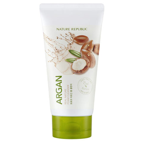 REAL NATURE ARGAN FOAM CLEANSER(R)