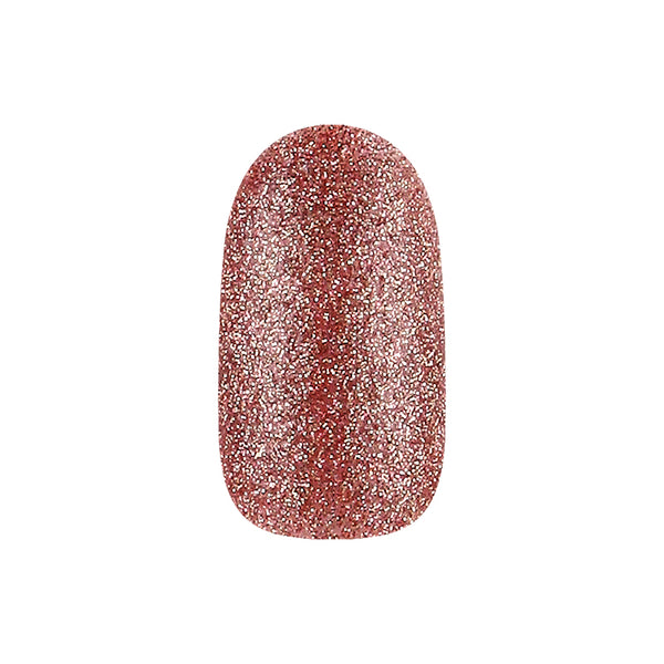 COLOR & NATURE NAIL COLOR 53 RUBY SPARKLING