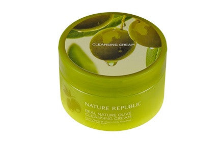 REAL NATURE OLIVE CLEANSING CREAM(R)