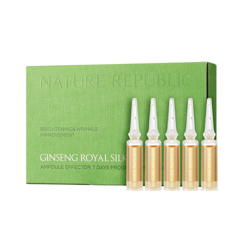 GINSENG ROYAL SILK AMPOULE EFFECTOR 7 DAYS PROGRAM SPECIAL SET (CRAZY SALE )