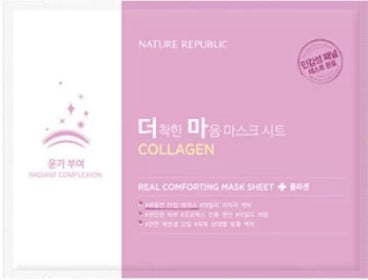 REAL COMFORTING MASK SHEET [COLLAGEN]