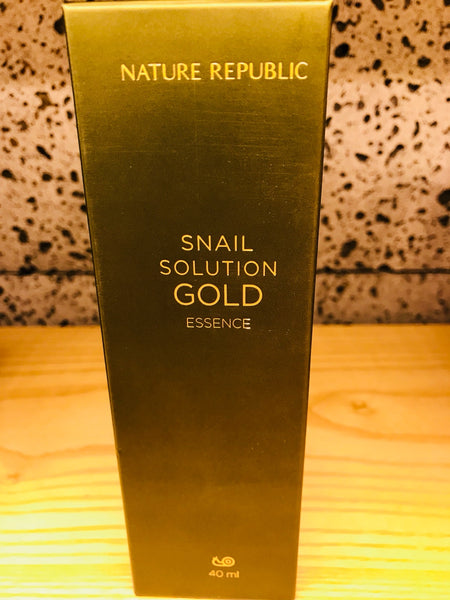 SNAIL SOLUTION GOLD ESSENCE