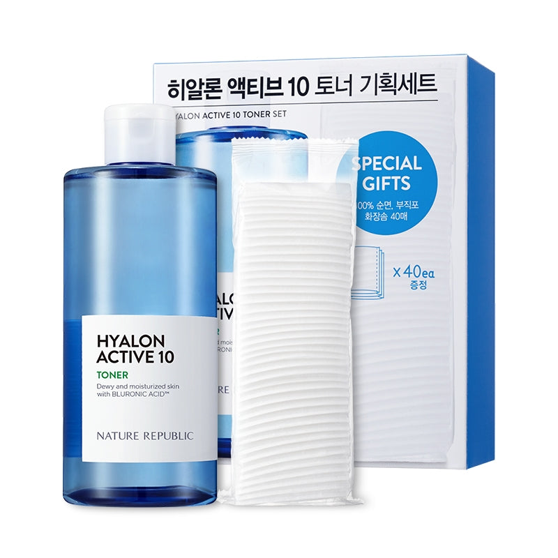 HYALON ACTIVE 10 TONER SET