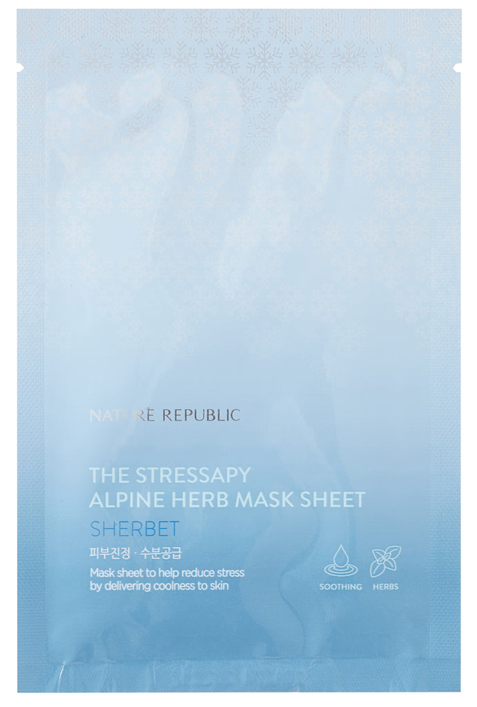 THE STRESSAPY ALPINE HERB MASK SHEET