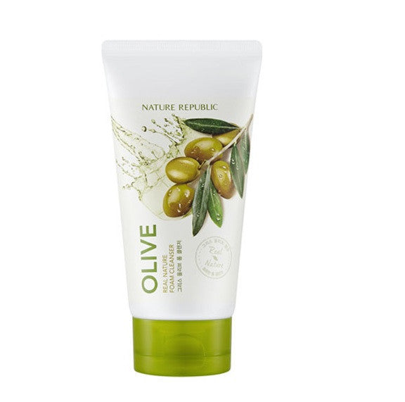 REAL NATURE OLIVE FOAM CLEANSER(R)  (CRAZY SALE  )expired 20.08