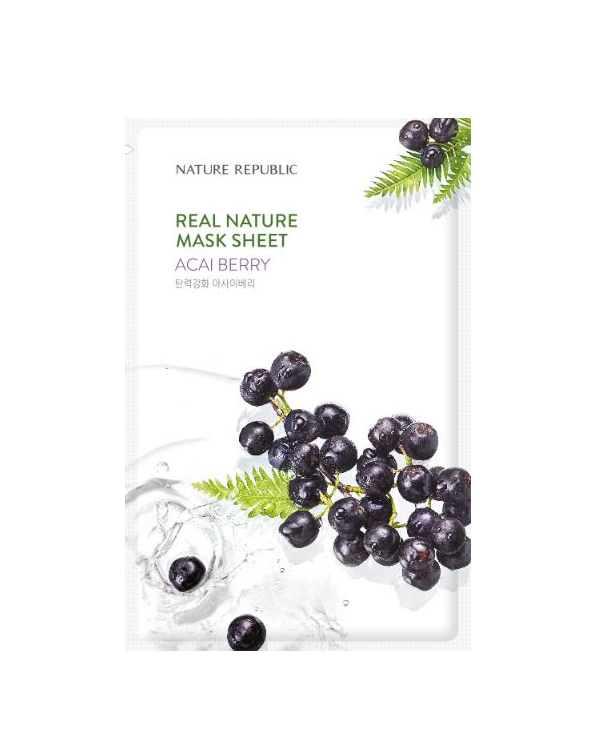 REAL NATURE ACAI BERRY MASK SHEET_RENEWAL