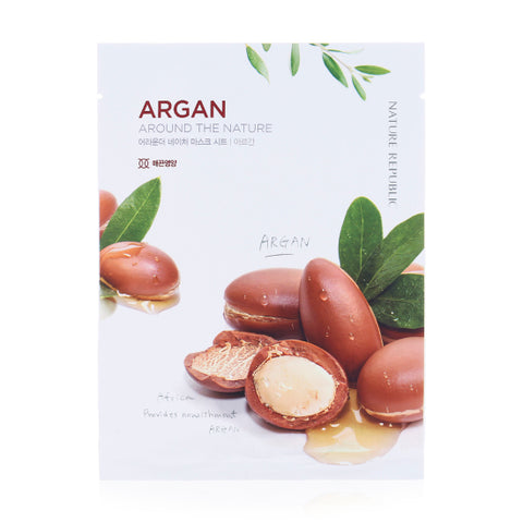 AROUND THE NATURE MASK SHEET_ARGAN (CRAZY SALE)