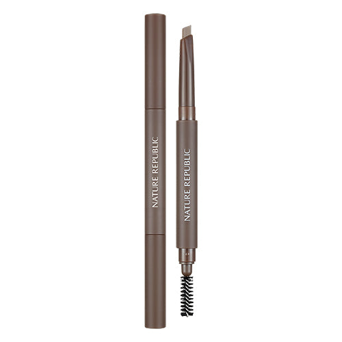 BY FLOWER AUTO EYEBROW 01 ALMOND BROWN