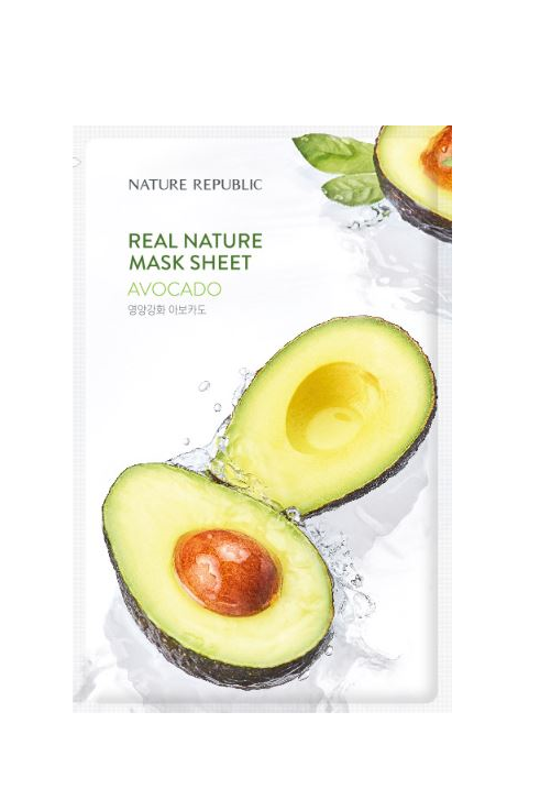 REAL NATURE AVOCADO MASK SHEET_RENEWAL