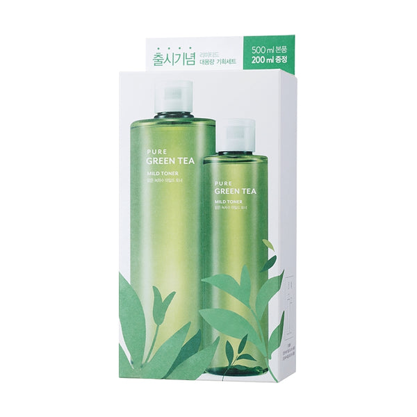 PURE GREEN TEA MILD BIG TONER SPECIAL SET