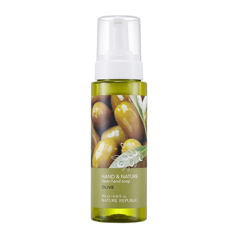 HAND & NATURE CLEAN HAND SOAP-OLIVE