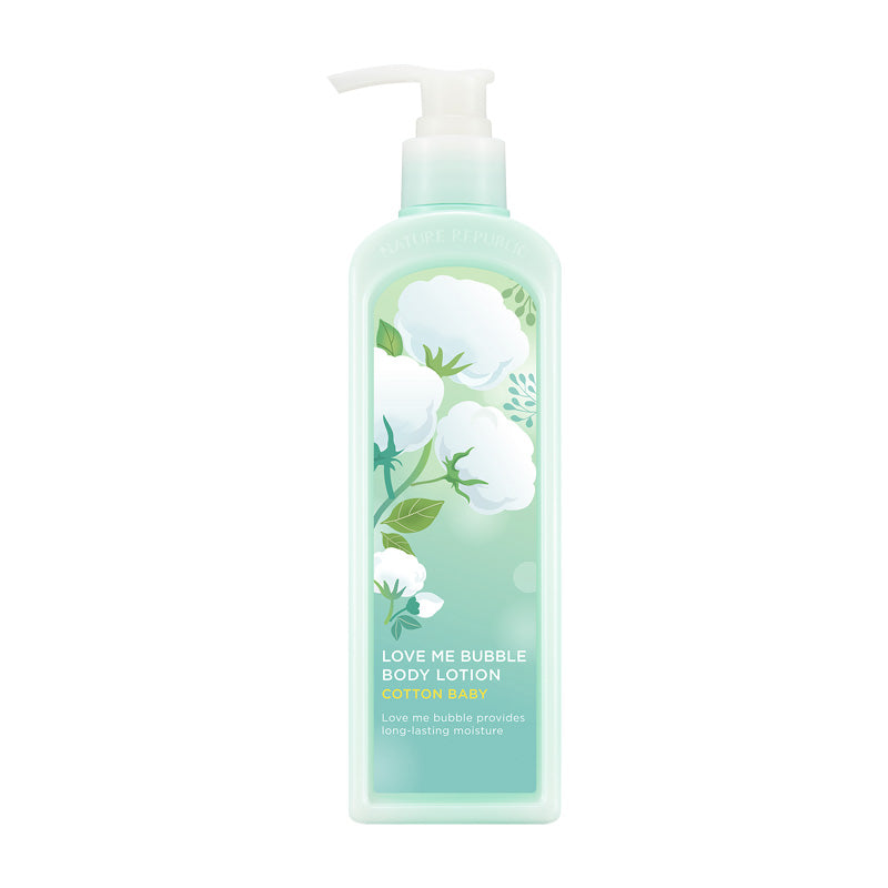 (NEW) LOVE ME BUBBLE BODY LOTION-COTTON BABY