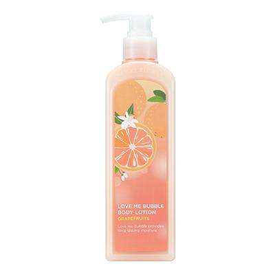 (NEW) LOVE ME BUBBLE BODY LOTION-GRAPEFRUITS  (BUY 1 GEL GET 1 LOTION )CRAZY SALE