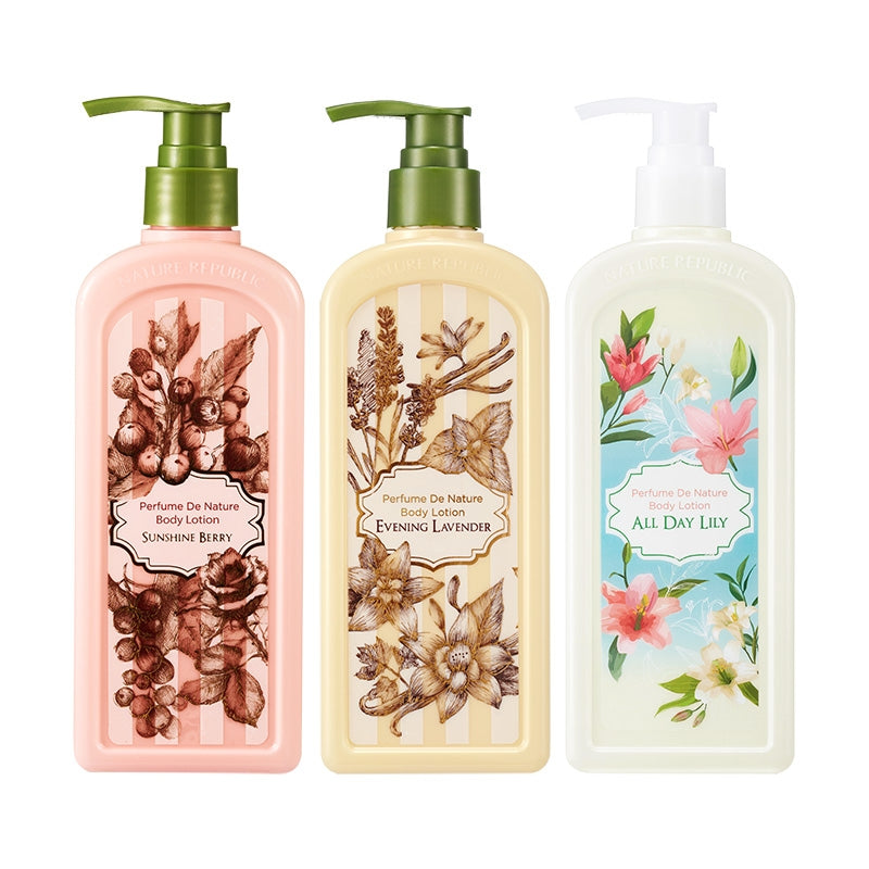 PERFUME DE NATURE BODY LOTION 02 EVENING LAVENDER (OMG SALE )