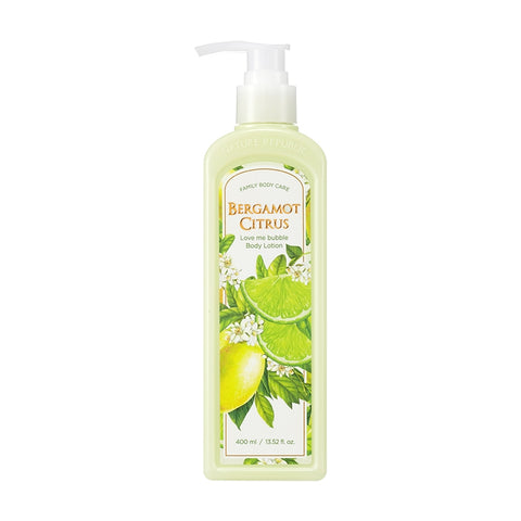 (NEW) LOVE ME BUBBLE BODY LOTION-BERGAMOT CITRUS