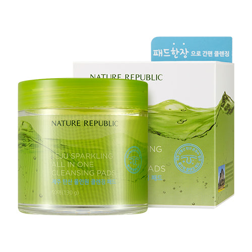 JEJU SPARKLING ALL IN ONE CLEANSING PADS
