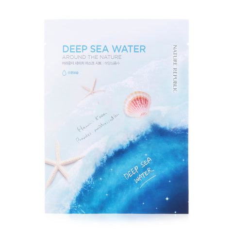 AROUND THE NATURE MASK SHEET_DEEP SEA WATER (CRAZY SALE)