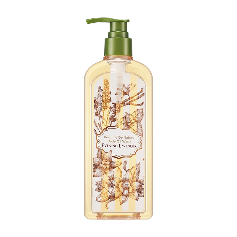 PERFUME DE NATURE BODY OIL WASH 02 EVENING LAVENDER (OMG SALE )