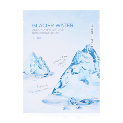 AROUND THE NATURE MASK SHEET_GLACIER WATER (CRAZY SALE)