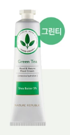 HAND&NATURE GREEN TEA HAND CREAM