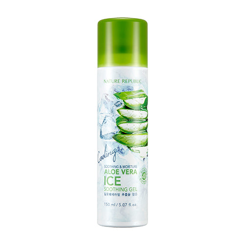 SOOTHING & MOISTURE ALOE VERA ICE SOOTHING GEL