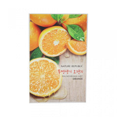 REAL NATURE ORANGE MASK SHEET