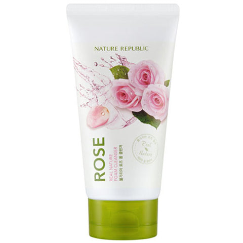 REAL NATURE ROSE FOAM CLEANSER(R) (CRAZY SALE  ) expired 20.10