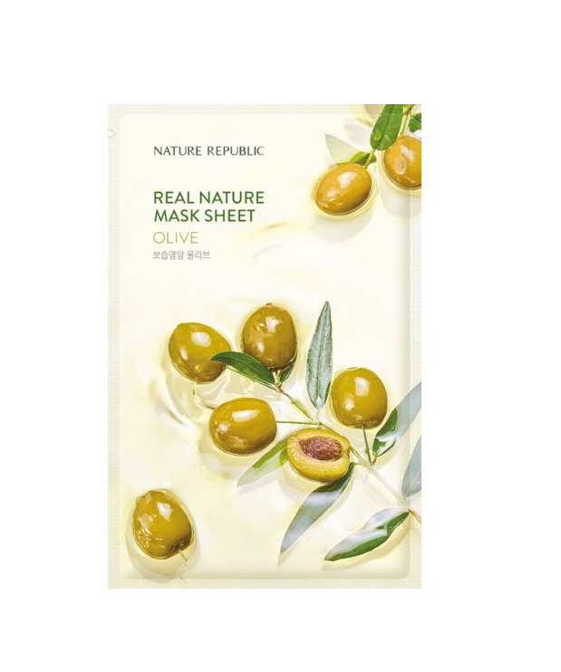 REAL NATURE OLIVE MASK SHEET_RENEWAL