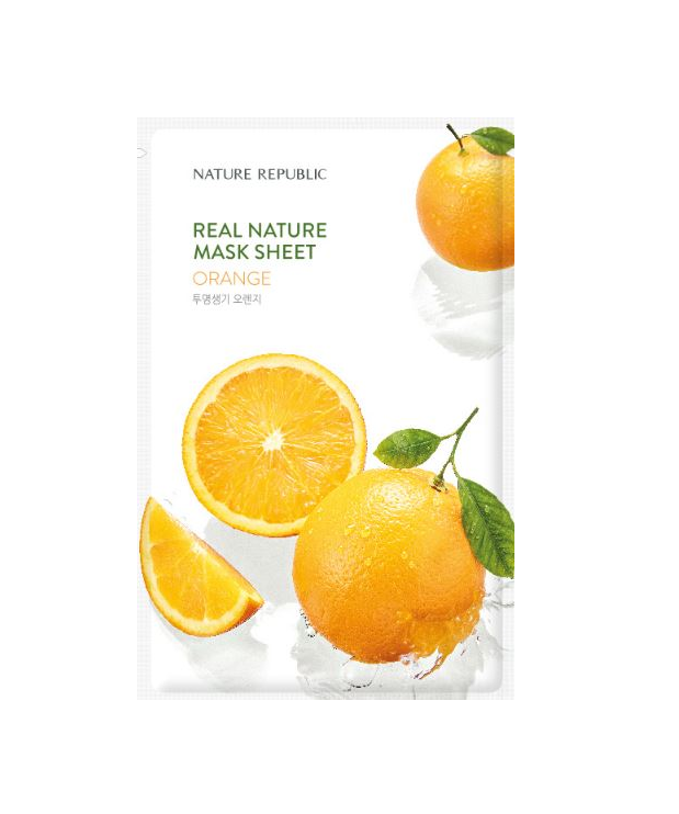 REAL NATURE ORANGE MASK SHEET_RENEWAL