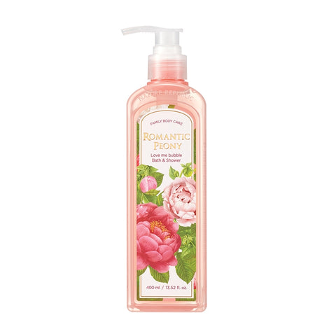 (NEW) LOVE ME BUBBLE BATH & SHOWER GEL-ROMANTIC PEONY