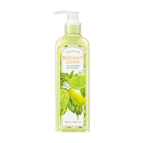 (NEW) LOVE ME BUBBLE BATH & SHOWER GEL-BERGAMOT CITRUS (OMG SALE )