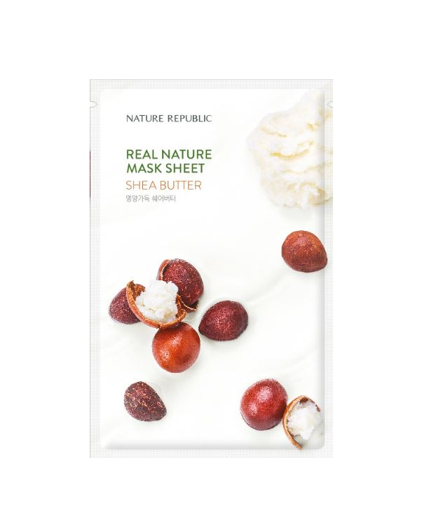 REAL NATURE SHEA BUTTER MASK SHEET_RENEWAL