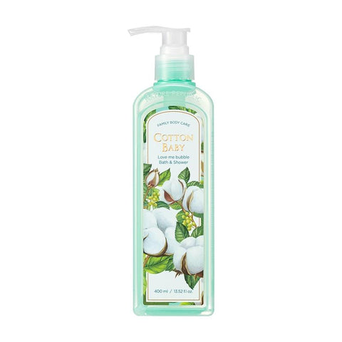 (NEW) LOVE ME BUBBLE BATH & SHOWER GEL-COTTON BABY