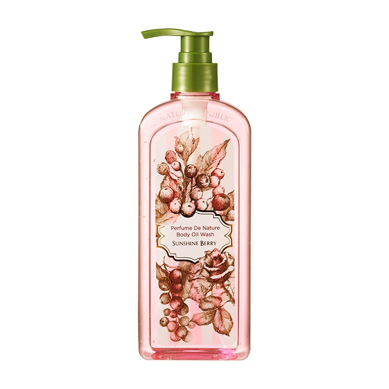 PERFUME DE NATURE BODY OIL WASH 01 SUNSHINE BERRY
