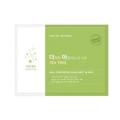 REAL COMFORTING MASK SHEET [TEA TREE]