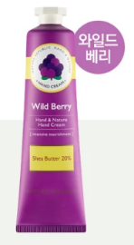 HAND&NATURE WILD BERRY HAND CREAM