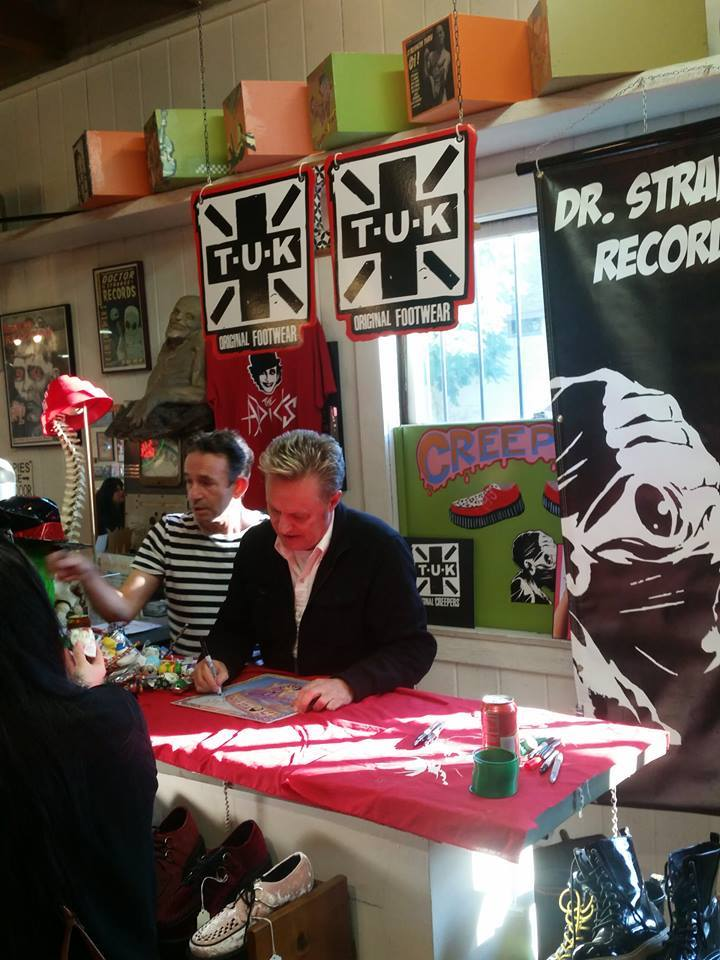 the adicts in-store dr strange records pic -77