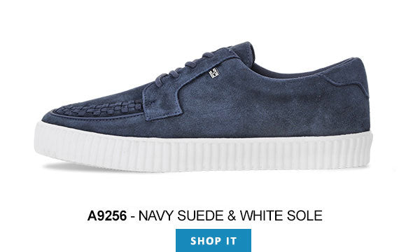EZC SHOES - A9256 NAVY SUEDED
