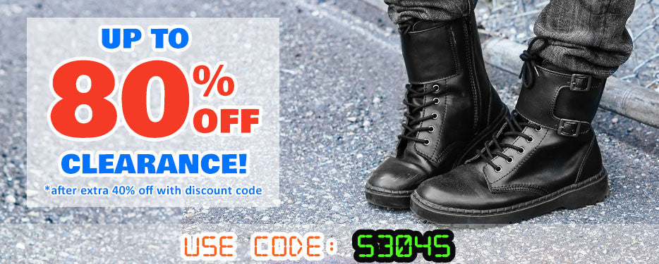 Extra 40% off Mens Clearance Boots