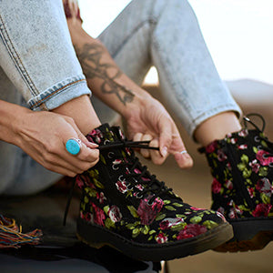 Shop Fall New Arrivals ft. Rose Lace Ealing Boot - A9141