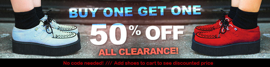 BOGO 50% off all clearance
