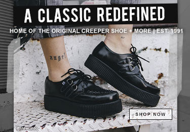 T.U.K. Footwear | Creeper Shoes, Platforms, Punk Boots