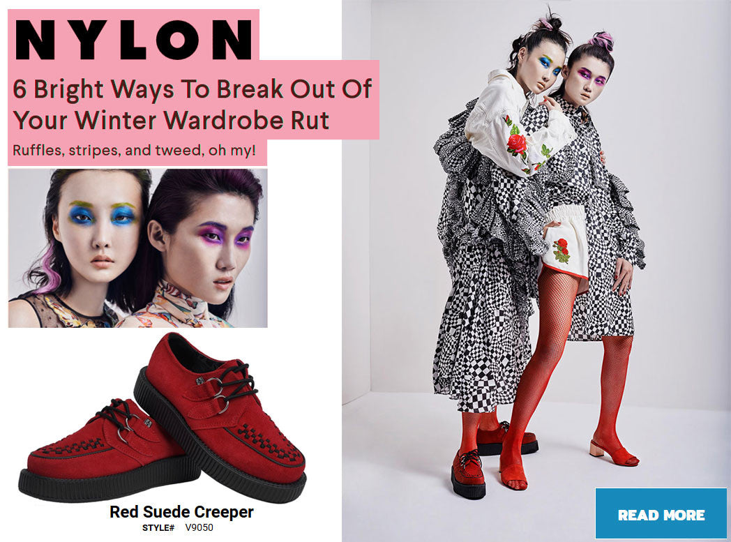 NYLON - RED CREEPERS