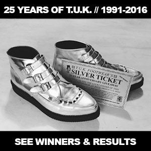25 YEARS OF T.U.K. / / / SILVER TICKET