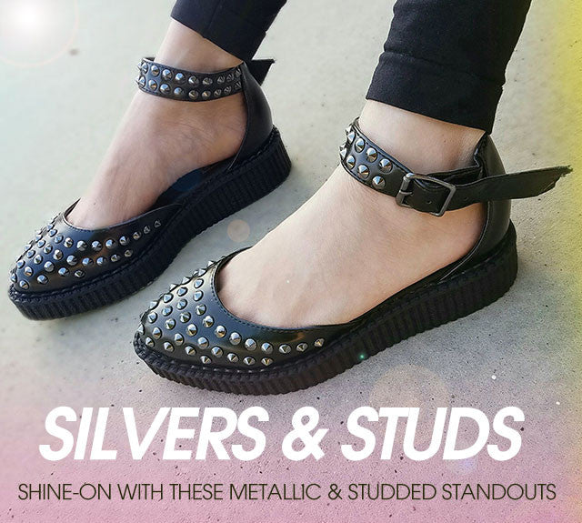 SILVER & STUDS
