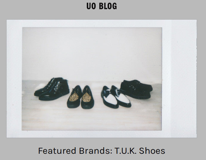 URBAN OUTFITTERS FEATURED BRAND - T.U.K.