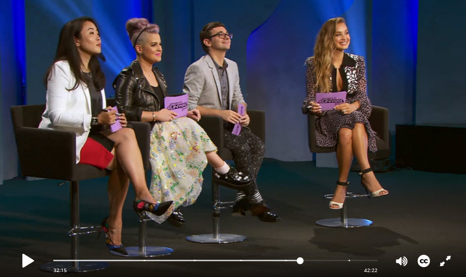 Project Runway Junior - video link