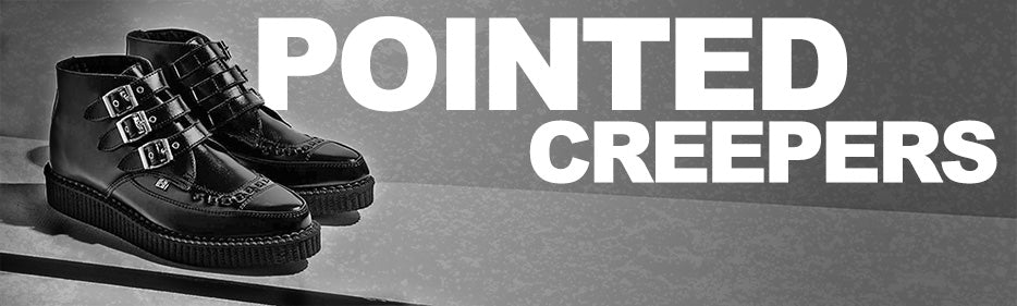 pointed creepers banner